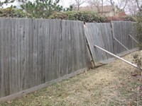 Arrow Fence repairs chain link, ornamental, vinyl and wood fences